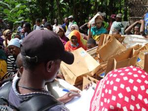 Dahari en appui d'urgence à plus de 1 800 familles les plus touchées par le cyclone Kenneth